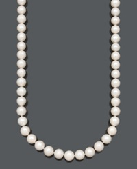 Belle De Mer A Cultured Freshwater Pearl Strand Necklace 11 13Mm In 14K Gold