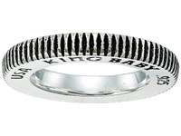 King Baby Studio Thin Coin Edge Band Silver Ring
