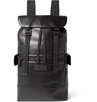 Bottega Veneta Leather Backpack Black