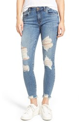 Sts Blue Women's Harper Ripped Ankle Skinny Jeans