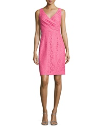 Donna Morgan Lulu Sleeveless Lace Cocktail Dress