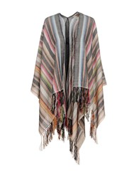 Figue Capes And Ponchos Beige