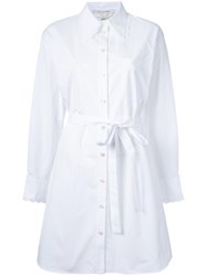 Marc Jacobs Oversized Shirt Dress White