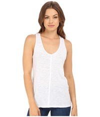 Project Social T Textured Tank Top White Women's Sleeveless