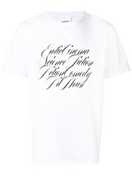 Soulland Rico T Shirt White