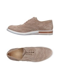 Gold Brothers Lace Up Shoes Grey