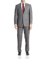 Calvin Klein 2 Piece Slim Fit Suit Grey