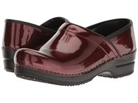 Sanita Smart Step Sable Pro Bordeaux Women's Slip On Dress Shoes Burgundy