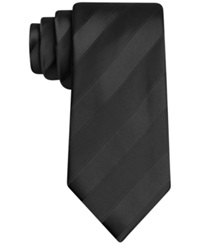 Sean John Wilson Solid Stripe Tie Black