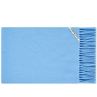 Acne Studios Holmes Brushed Scarf Blue