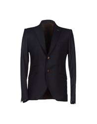 Maurizio Miri Suits And Jackets Blazers Men Dark Blue