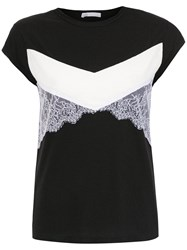 Spacenk Nk Top With Lace Details Black