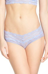 B.Tempt'd Women's By Wacoal 'Lace Kiss' Hipster Briefs Very Violet