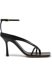 Bottega Veneta Leather Sandals Black
