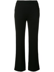 Missoni Cropped Trousers Polyester Viscose Black