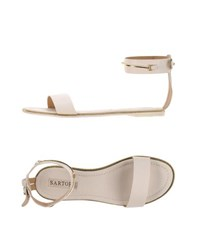 Sartore Footwear Sandals Women White