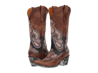Old Gringo Bell Blue Oryx Cowboy Boots Brown