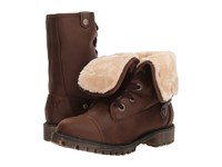 Roxy Bruna Chocolate Lace Up Boots Brown