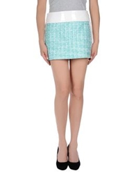 Fay Mini Skirts Green