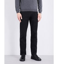 Hugo Boss Slim Fit Tapered Chinos Black