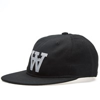 Wood Wood Aa Baseball Cap Black