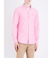 Tommy Hilfiger New York Fit Cotton Shirt Bright Rose