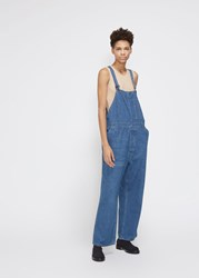 Chimala 'S Denim Overall In Vintage Wash Size Small 100 Cotton