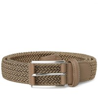 Andersons Anderson's Woven Textile Belt Green