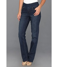 Jag Jeans Paley Pull On Boot In Blue Shadow Blue Shadow Women's Jeans