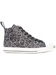 Haculla One Of A Kind Hi Top Sneakers Black