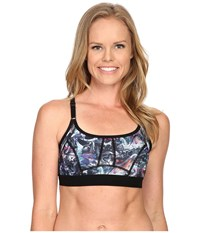 Lole Alpine Bra Black Moving Sand Women's Bra