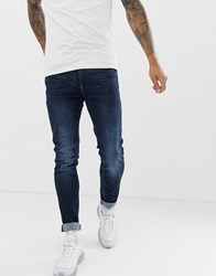 Blend Of America Echo Tapered Fit Jean In Dark Wash Blue
