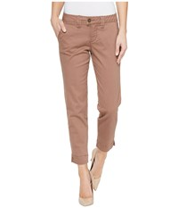 Jag Jeans Creston Ankle Crop In Bay Twill Birds Nest Women's Casual Pants Brown
