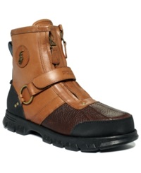 Polo Ralph Lauren Conquest Iii High Boots Men's Shoes Briarwood Brown