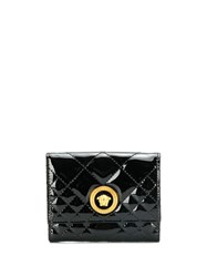Versace Medusa Icon Quilted Purse Black