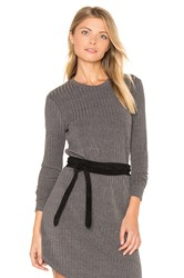 Ada Midi Wrap Belt Black