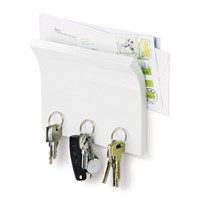 Umbra Magnetter Key And Letter Holder White