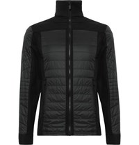 Fusalp Ted Quilted Perfortex And Softshell Ski Jacket Black