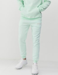 Nicce London Joggers With Logo In Mint Green