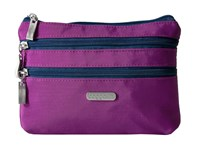 Baggallini 3 Zip Cosmetic Case Magenta Pacific Cosmetic Case Purple