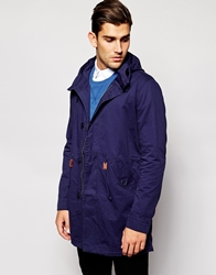 United Colors Of Benetton Parka Jacket Navy09t