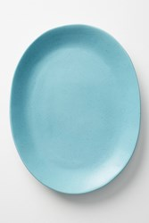 Anthropologie Color Study Serving Plate Blue
