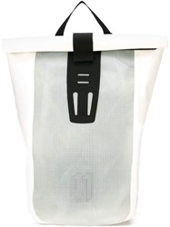11 By Boris Bidjan Saberi 'Velocity' Backpack White