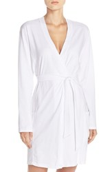 Naked Women's Stretch Cotton Robe White