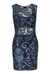 Lace Dress By Oh My Love Blue