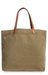 Madewell Canvas Transport Tote Green British Surplus