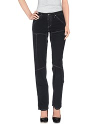 Jaggy Trousers Casual Trousers Women Black