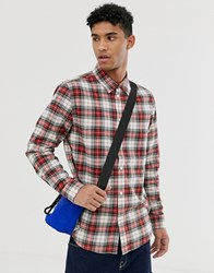 Cheap Monday Check Shirt In Red