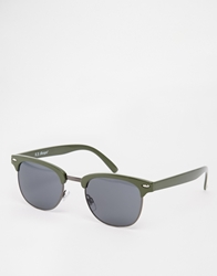 A. J. Morgan Aj Morgan Clubmaster Sunglasses Olive
