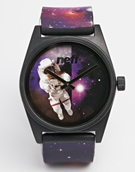 Neff Daily Wild Spaceman Watch Purple